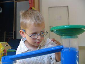 Frühförderung für Kinder mit Sehschädigung
