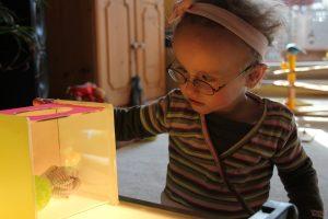 Frühförderung für Kinder mit cerebral bedingter Sehbeeinträchtigung
